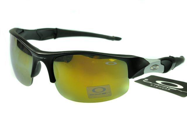 Oakley Flak Jacket Semi-Rimless Black AID
