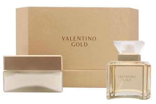 Valentino Gold By Valentino For Women. Set-eau De Parfum Spray 3.3 Ounces & Body Cream 5.5 Ounces by Valentino. Save 55 Off!. $55.99. This item is not for sale in Catalina Island. Packaging for this product may vary from that shown in the image above. Launched by the design house of Valentino in , VALENTINO GOLD by Valentino is classified as a fragrance. This feminine scent posesses a blend of: It is recommended for wear.