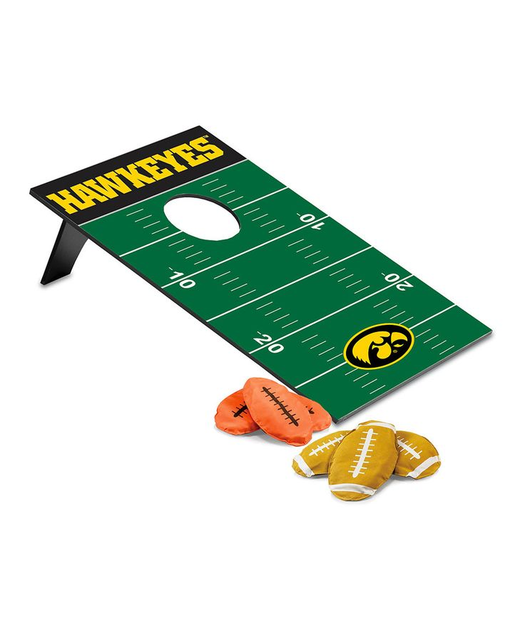 Take a look at this Iowa Hawkeyes Football Beanbag Throw Game today!