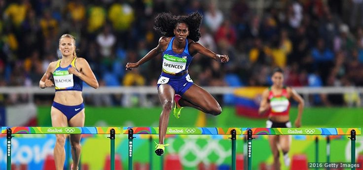 The Best Photos From Rio 2016: Aug. 15 Edition Ashley Spencer, Track and Field
