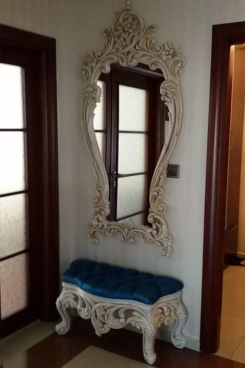 Puflu Boy Aynası - Dekorimo Sizden Gelenler