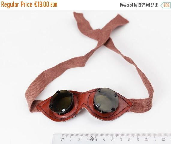 SPRING SALE Vintage USSR Glasses Steampunk  Goggles by RETROisIN