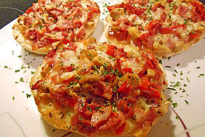 Pizzabrötchen (Rezept mit Bild) von bille969 | Chefkoch.de