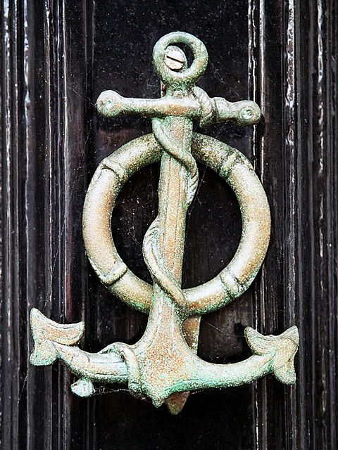 Nautical door knocker