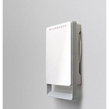 Chauffage d'appoint électrique fixe soufflant salle de bains AURORA Touch, 1800W