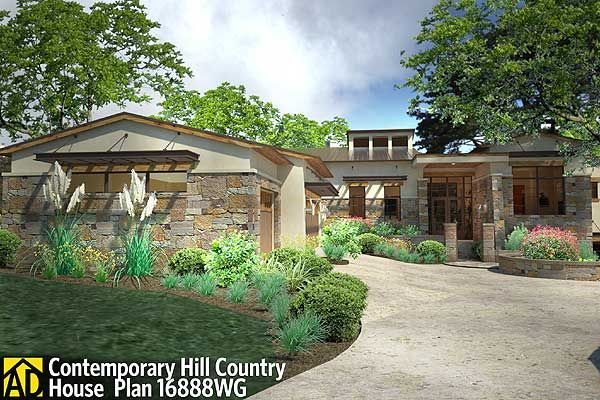 100 best texas hill country homes images by preston wood for Hill country contemporary house plans