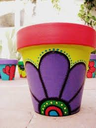 Best 25+ Painted flower pots ideas on Pinterest | Painted plant pots, Paint  flower pots and Painting pots