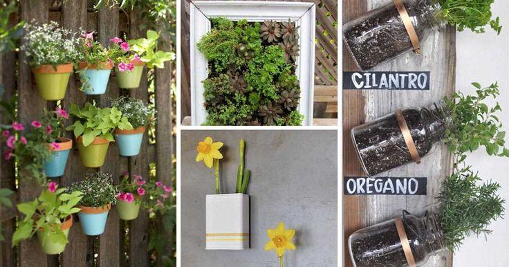 9 nápadů na vertikální zahradničení