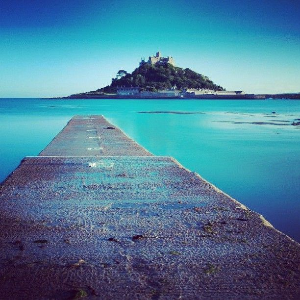 St Michael's Mount, #Cornwall looking serene. #instagram