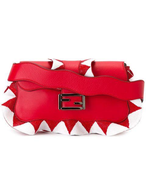 FENDI   zig-zag shoulder bag  $4,250