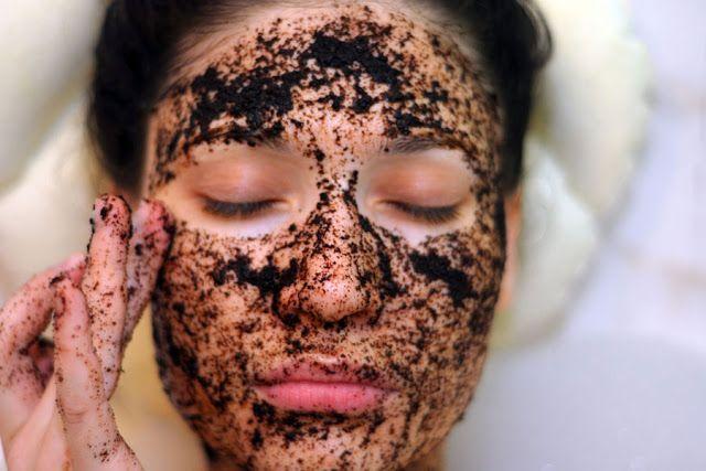 Mascarilla natural de café para el rostro-Coffee natural mask for the face.