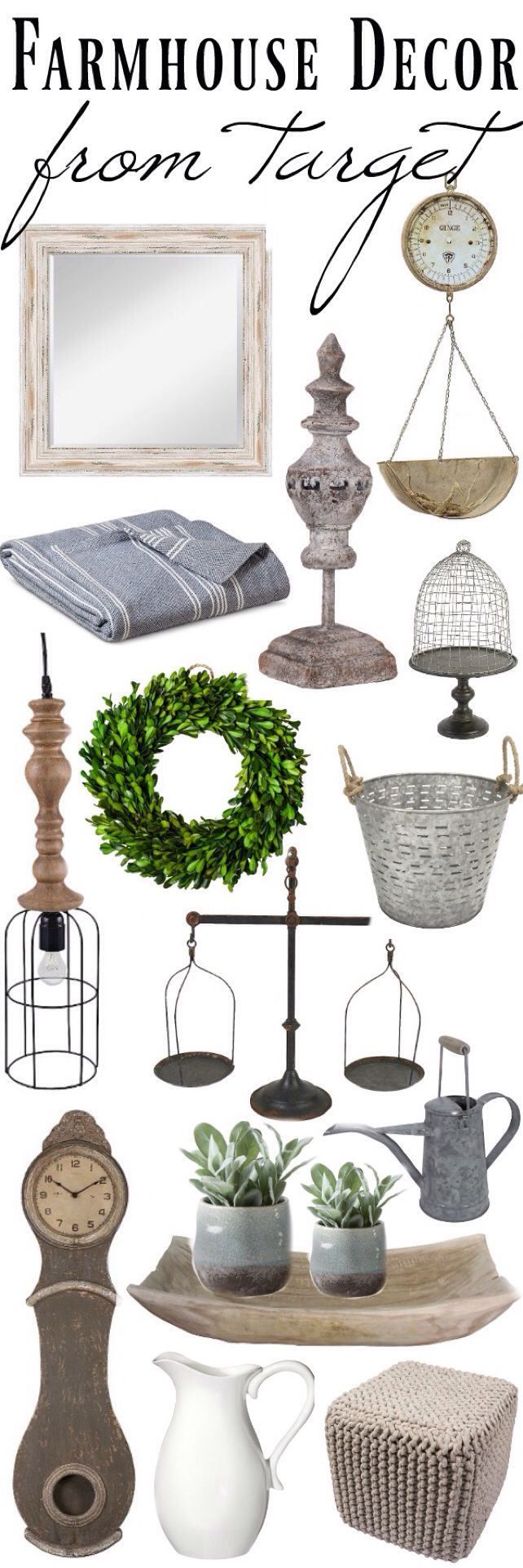 liz marie blog The Best Farmhouse Decor From Target http://www.lizmarieblog.com/2016/08/the-best-farmhouse-decor-from-target/ via bHome https://bhome.us