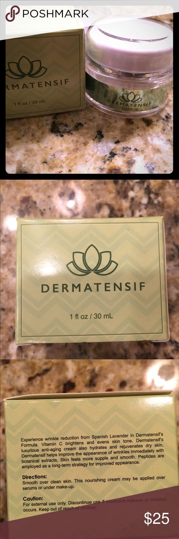 CCO 2 pieces anti-aging cream Dermatensif and Brio CCO 1-anti-aging cream Dermatensif AND  1-Brio Night time serum  Brand new!!! Just cleaning out my cabinets!  No pets-smoke free home. Brio Makeup Face Primer
