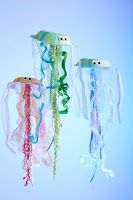 Preschool Crafts for Kids*: Summer Jellyfish Paper Bowl Craft