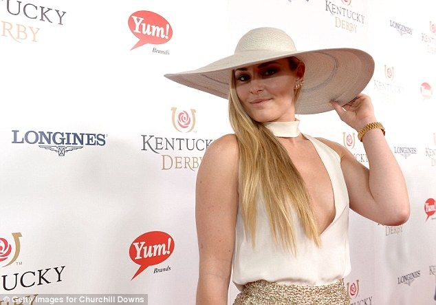 Vonn - who looked stunning in high-waisted sequinned pants and a wide brim hat at the event - insists that she never asked to be seated away from the former model and said they remained on 'great terms'