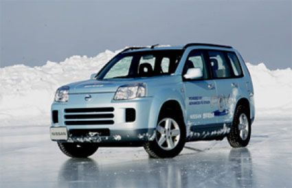 pem fuel cell stacks nissan -Nissan Xtrail in subzero environment.