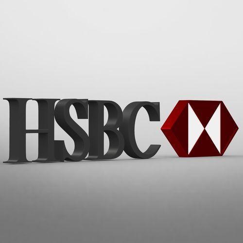 Hsbc logo | 3D Model