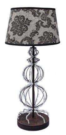 Table lamp Baroque Cristal 60cm $ 45 + GST