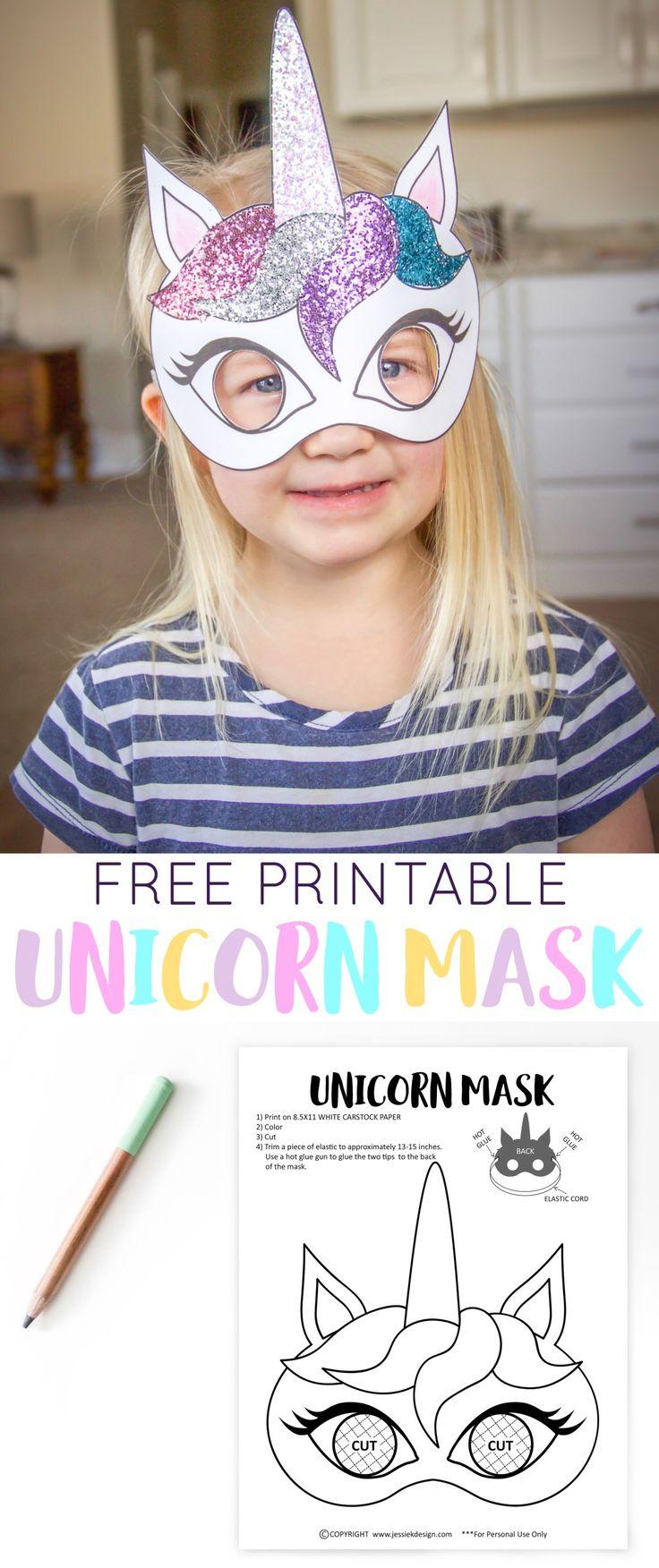 Unicorn Birthday Party Free Printables » Jessie K Design