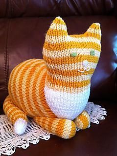 Free Knitting Pattern of the Day a Parlor Cat to Knit