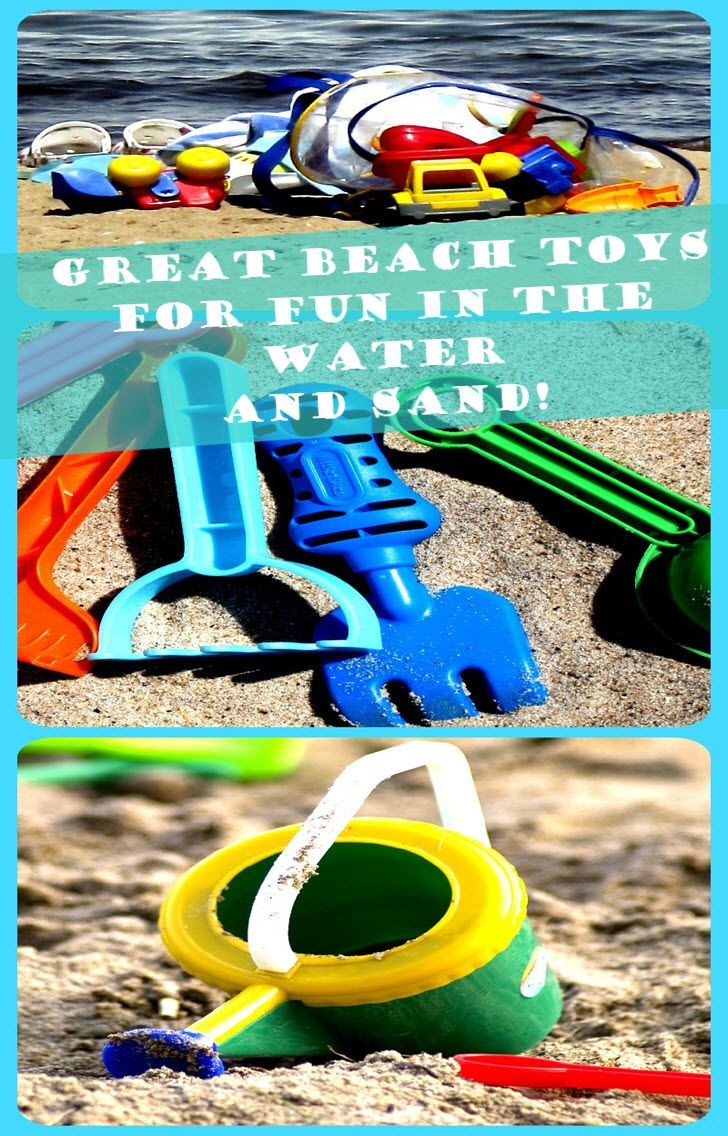 Beach Toys for Kids - great sets for fun in the sand!