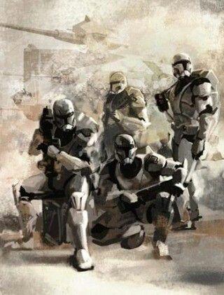 Great trooper art.