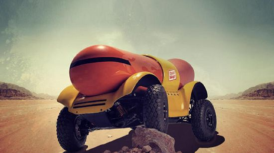 Meet The Oscar Mayer Wiener Rover