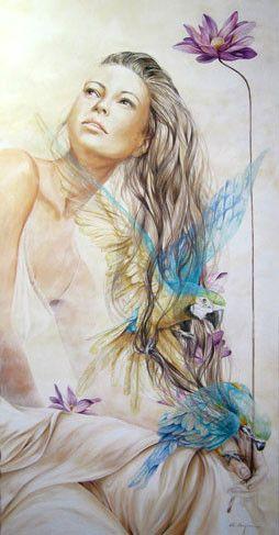 By Chelin Sanjuan #gallery #artist