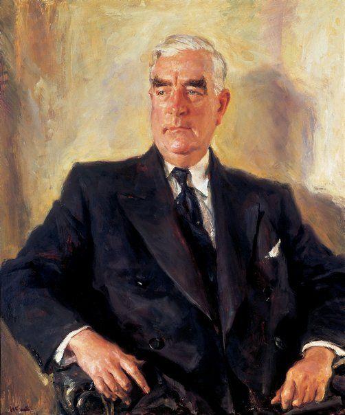 Ivor Hele: Rt. Hon. R. G. Menzies, P.C., C.H., Q.C., M.P. :: WINNER Archibald…