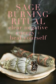 Ahhhh! So excited to tell you about my first burning sage ritual that I did over the weekend. I've always wanted to, having only seen them performed on TV in some Real Housewife's mcmansion, but was waiting for a reason. Which is what I hope you'll take away from this post: You don't need a reason! Everyone …