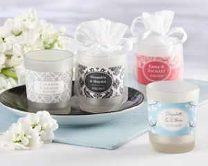 Personalised Glass Votive