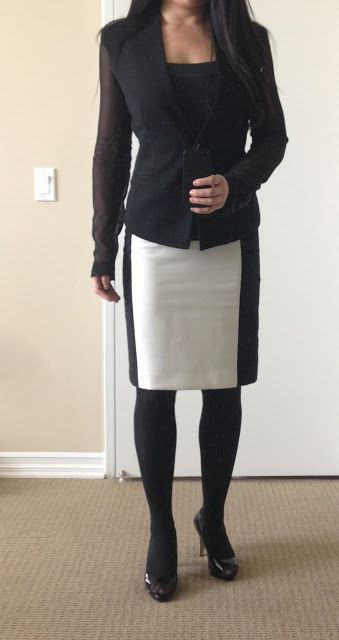 My Superficial Endeavors Ikea: Smart Casual Skirt, Work Outfit