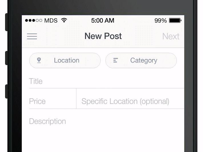 Mobile Form Usability