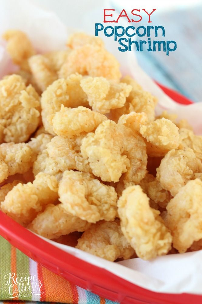 Easy Popcorn Fried Shrimp