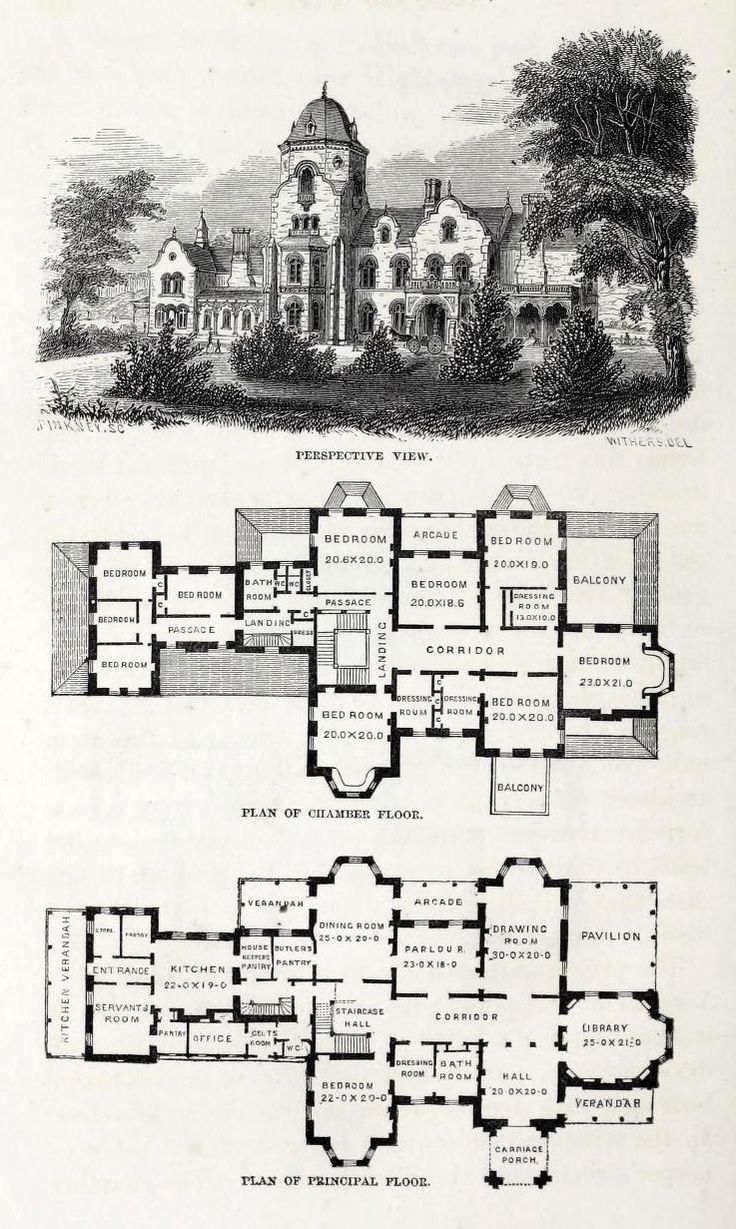 Design for a country residence