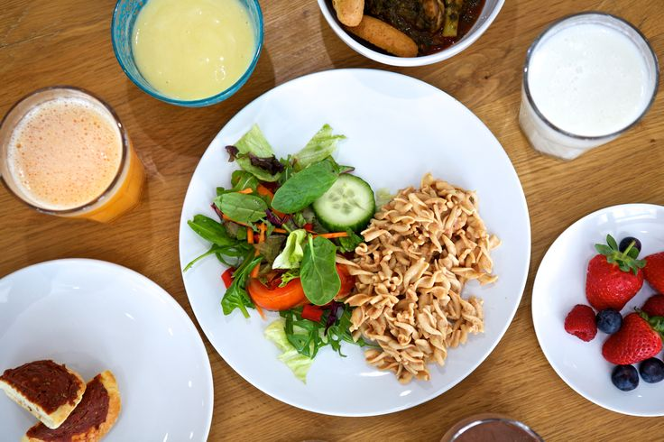 A typical meal on the Alevere diet, healthy eating is the ...
