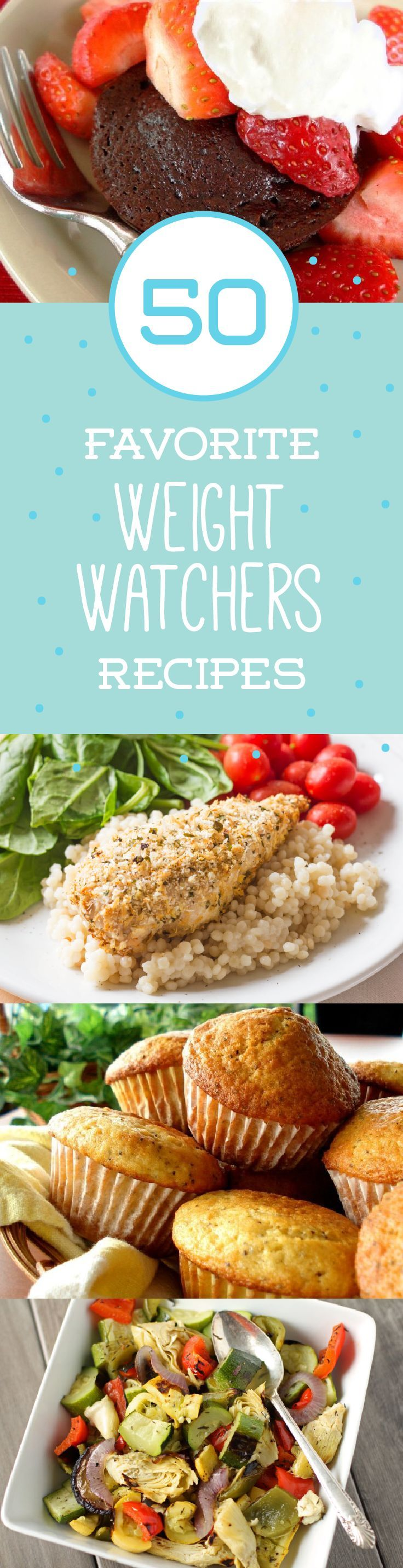 No need to buy prepared meals with these 50 recipes. Try these Weight Watchers favorites, including Deep-Dish Pizza Casserole and Banana Bread.