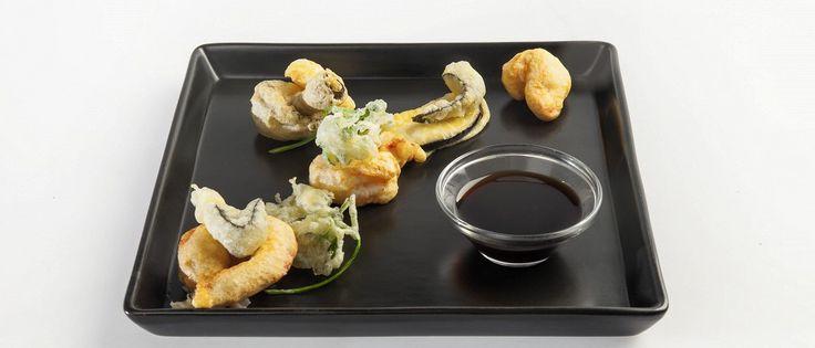 Темпура из овощей и морепродуктов