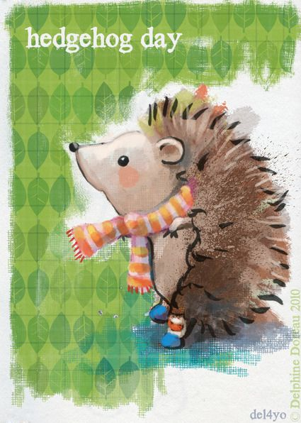 Le lapin dans la lune - Non dairy Diary - hedgehogday
