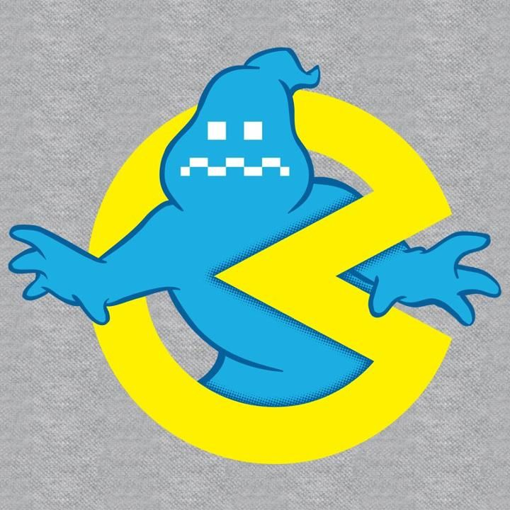 Pac-Man / Ghostbusters mash-up