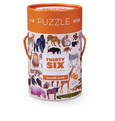 Puzzle 100el., motyw zwierzęta świata, CC (6786872747) - Allegro.pl - Więcej niż aukcje.