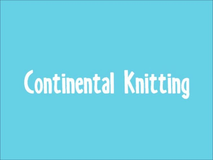 Continental Knitting : 54 Best images about Tricot on Pinterest Double knitting, Free pattern and ...