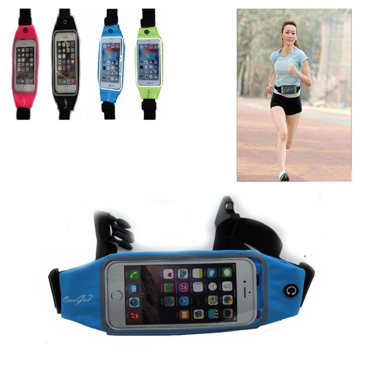 Running Belt Waist Pack, OmeGod Running & Fitness Sweat-Proof Reflective Fanny Pack for Running, Walking Dogs, Hit the Gym, Work Outdoors, Fits iPhone 6 6s 6 Plus 5 5s 4 4s & Samsung Galaxy S6 S5 etc. DUAL COMPARTMENTS -- With Dual Separate Compartments, This OmeGod Running Belt Is Very Handy And Can Embrace Not Only Your Smart Phone, But All Other Gadgets You Need While Running. One For Smart Phones Like iPhone 6, 6s, 6 Plus, Samsung Galaxy S6, S5 & All Other Devices No Larger Than 6in…