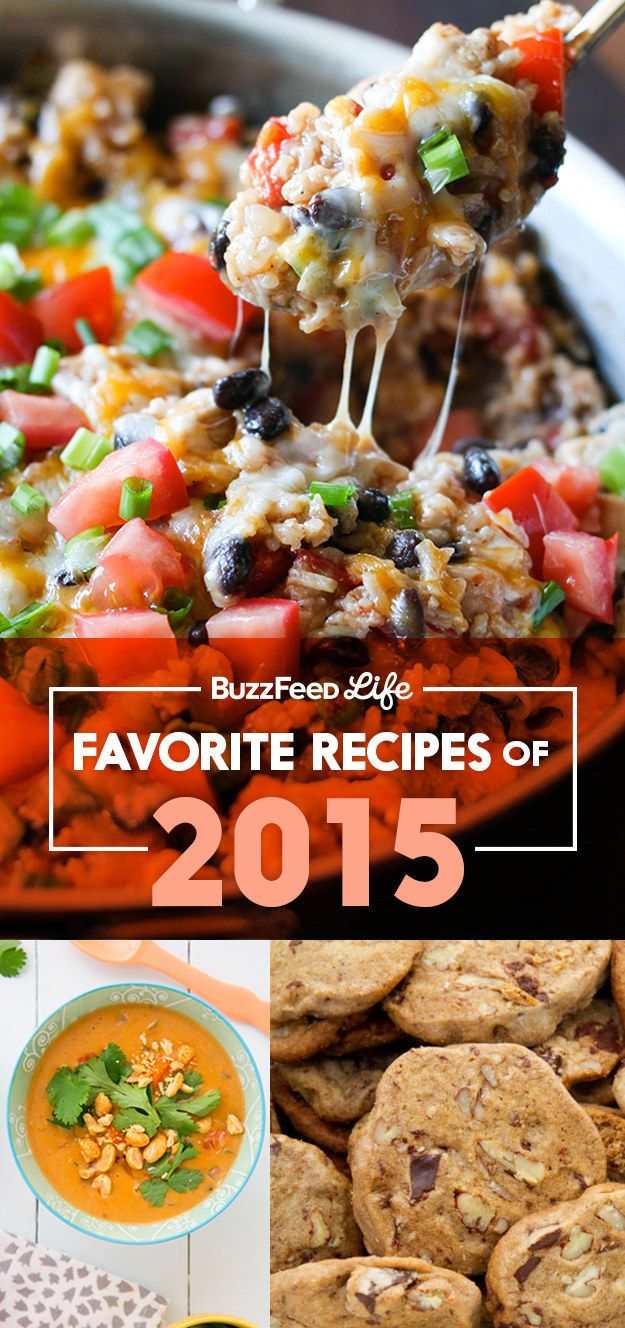 35 Of The Best Recipes We Made In 2015 | BuzzFeed Life