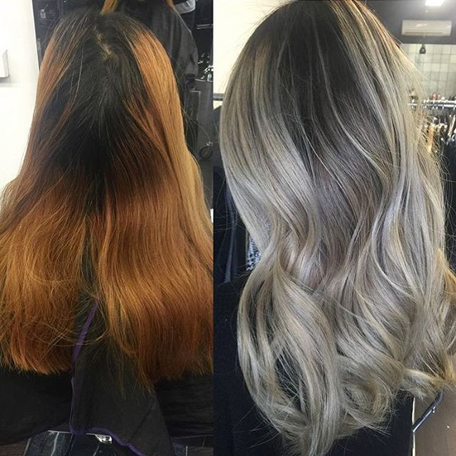 Olaplex Before And After Highlights Lowlights This Professional Treatment Helps Strengthen Bleached Hair It S A Three Step Regimen Used During