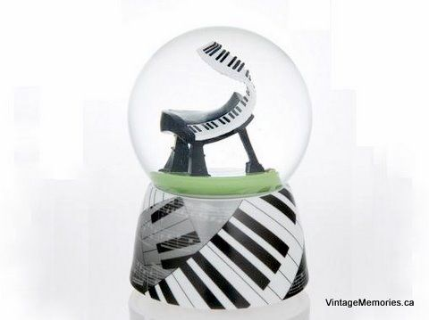 Musical Water Globes for Girls | Musical Water Globes (Snow Globes)
