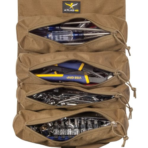 Tool Roll Pouch - 4 Pocket (A46-TRP-4P)