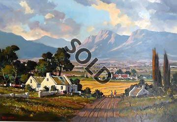 Farm House by Dale Elliot | Dante Art Gallery