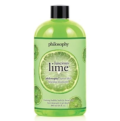 2. Philosophy Luscious Lime Bubble Bath & Shower Gel - 7 Fab Spring Products from Philosophy ... | All Women Stalk