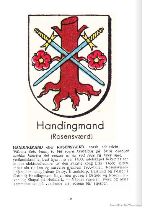 Handingmand eller Rosensværd